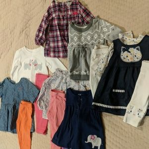 9 month bundle of 6 outfits